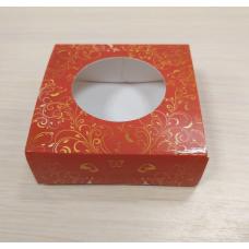 Коробочка квадратная 7,5х7,5 см Узор