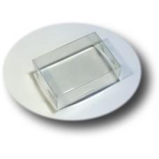 Коробочка пластик ПП1-012 прозрачная 10 см х 7 см