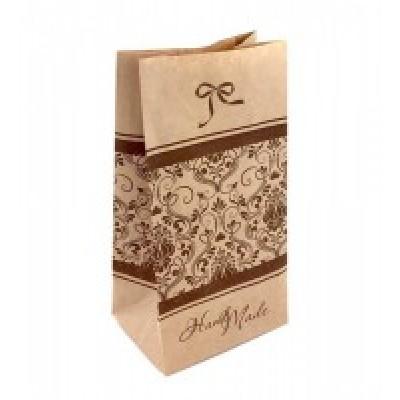 Крафт-пакет с рисунком Hand Made