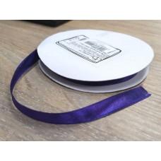 Лента атласная Фиолетовая, ширина 9 мм, 1 м