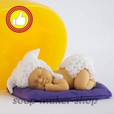 """Дизайнерская форма """"Малыш на подушке 2"""" 3Д"""