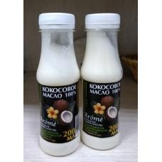 Масло Кокосовое AROME натуральное рафинированное, 200 мл