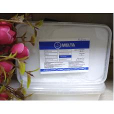 Мыльная основа Белая Melta с маслом ШИ, 1 кг (контейнер)