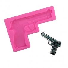 Молд силиконовый Пистолет 8,5 см