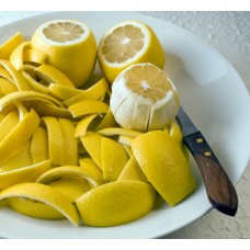 Цедра лимона молотая (натуральный скраб), 25 г