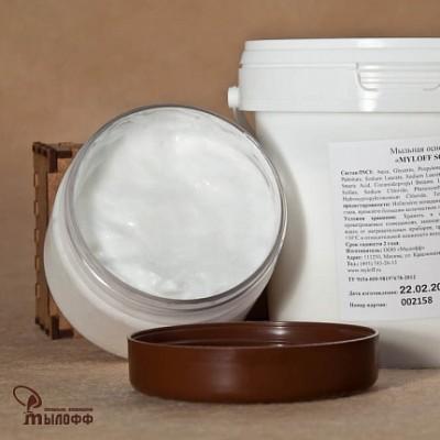 Мыльная основа кремообразная MYLOFF SC, 0,5 кг