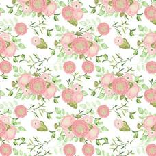 Листовая наклейка формат А4 неделенная Розы