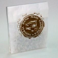 Пакет бумажный белый 9х18 см
