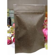 Пакет Дой-пак с замком зип-лок Коричневый 10х14 см