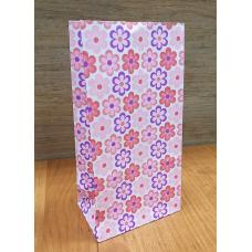 """Пакет бумажный упаковочный """"Ромашки"""", 9х18 см"""