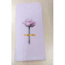 Конвертик бумажный для сладостей Роза 8х15 см