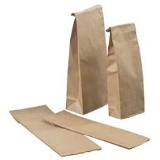 Пакет крафт бумажный 8 см х 16 см х 3,5 см