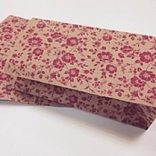 Пакет-крафт Цветы, 200*100*70 мм