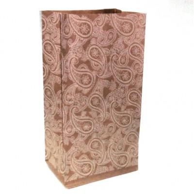 Пакет-крафт Восточный орнамент, 200*100*70 мм