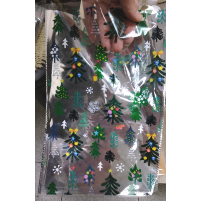 Пакет подарочный с Елочками 20*30 см