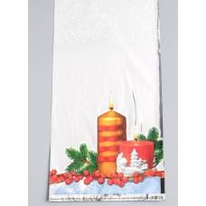 Пакет подарочный Огонек 15х30 см