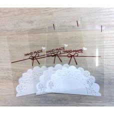 Пакет Hand Made с липким краем 10х11 см