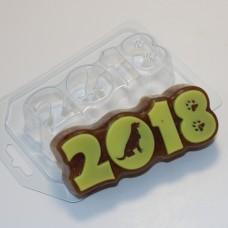 Пластиковая форма 2018 Силуэт собаки