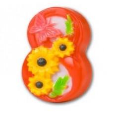 Пластиковая форма Восьмерка с бабочкой