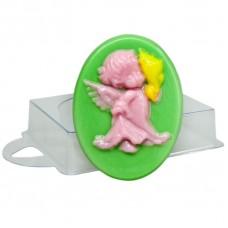 Пластиковая форма Ангел с ракушкой