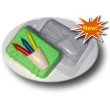 Пластиковая форма Блокнот с карандашами