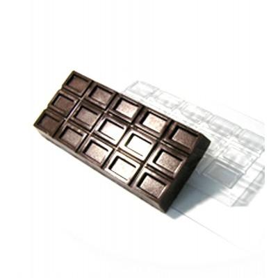Пластиковая форма Большая Шоколадка