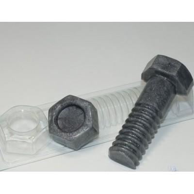 Пластиковая форма Болт с Гайкой
