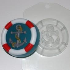 Пластиковая форма Якорь