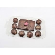 Пластиковая форма для шоколада Набор ВМФ