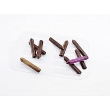 Пластиковая форма для шоколада Карандаши