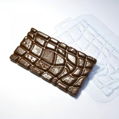 Пластиковая форма для шоколада Супер Микс