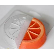 Пластиковая форма Долька апельсина