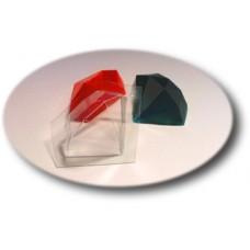 """Пластиковая форма """"Драгоценный камень"""""""
