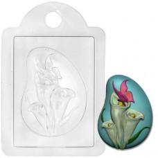 Пластиковая форма Калы с бабочкой