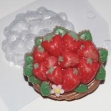 Пластиковая форма Корзина клубники