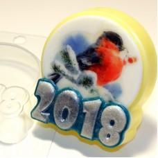 Пластиковая форма Круг под водорастворимку 2018