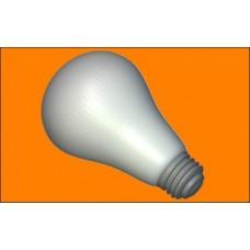 Пластиковая форма Лампочка
