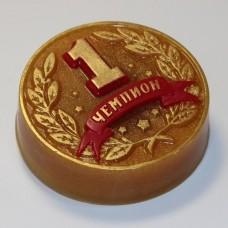 Пластиковая форма Медаль - Чемпион