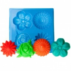 Пластиковая форма МК Цветы