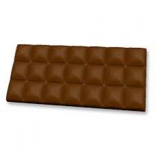 "Пластиковая форма ""Молочный шоколад"""