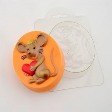 Пластиковая форма Мышкино Сердце