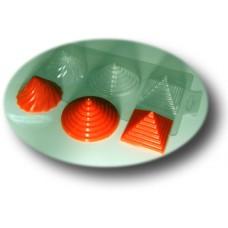 Пластиковая форма Пирамидки
