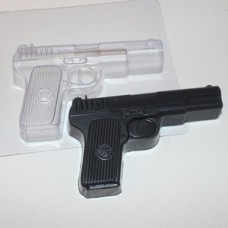 """Пластиковая форма """"Пистолет"""""""