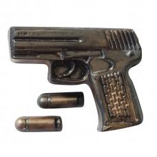 Пластиковая форма Пистолет Беретта с пулями (Выдумщики)