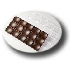 Пластиковая форма для шоколада Плитка Параболы