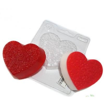 Пластиковая форма Романтика - сердце