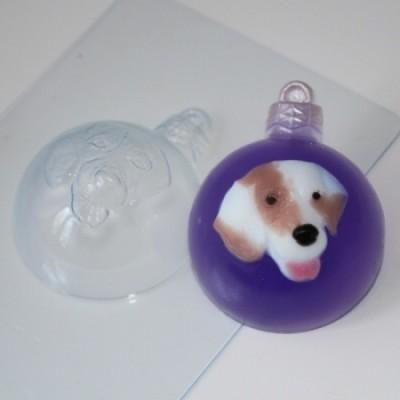 Пластиковая форма Шар Собака