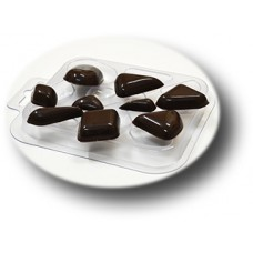 Форма для шоколада Шоко-ромбы