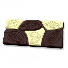 """Пластиковая форма для шоколада """"Шоколад какао Дольки"""""""