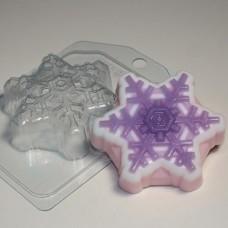 Пластиковая форма Снежинка 4